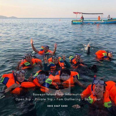 open trip sharecost pulau bawean terbaru 2021